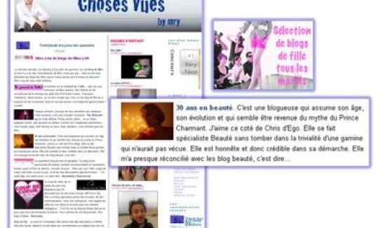 30ans en beauté parmi les blogs de fille d'MRY