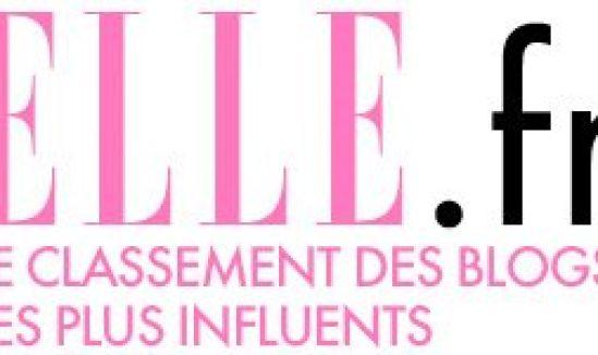 Classement Elle des blogs féminins