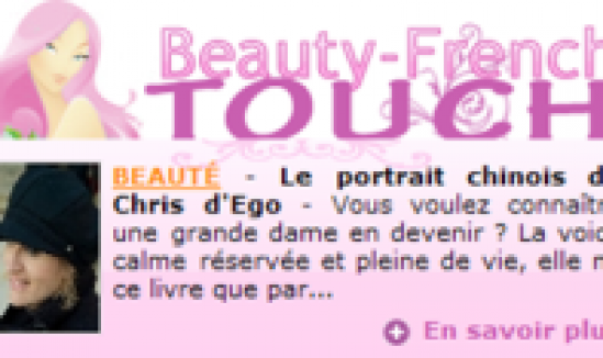 Portrait Chinois sur Beauty French Touch
