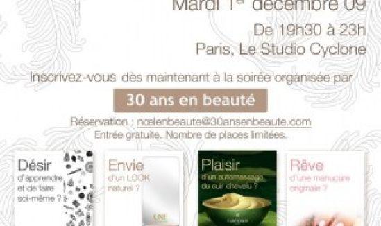 Invitation soirée Noël en beauté 09