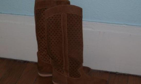 Mes bottes à trous