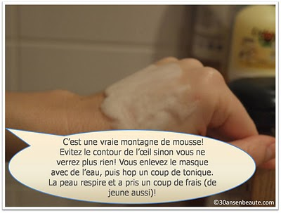 bliss+mask+30ansenbeaute5 Un must have : le masque soin à oxygène qui mousse, mousse!!!