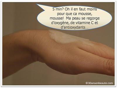 bliss+mask+30ansenbeaute4 Un must have : le masque soin à oxygène qui mousse, mousse!!!
