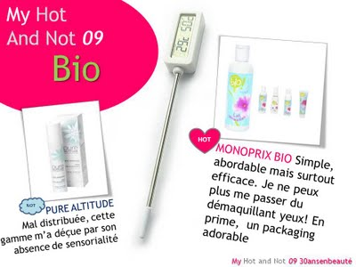my+hot+and+not+bio My Hot and Not 09...et un concours!