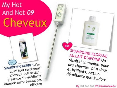 my+hot+and+not+cheveux My Hot and Not 09...et un concours!