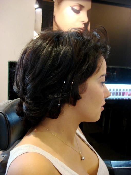 DSC04244 2 510x680 De lépilation au fil aux strass dans les cheveux chez Harrods. Just a little bit crazy?