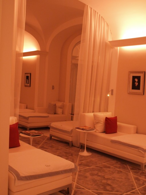 Salle de repose Institut Dior Plaza Athenee 30ansenbeaute 510x680 Test de lInstitut Dior au Plaza Athénée