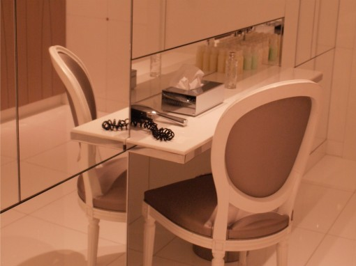 Vestiaire Institut Dior 30ansenbeaute 510x382 Test de lInstitut Dior au Plaza Athénée