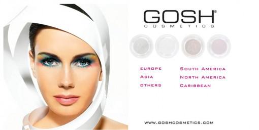 Gosh 510x257 Sleek, MNY et Gosh: du maquillage coloré pas cher venu de l'étranger
