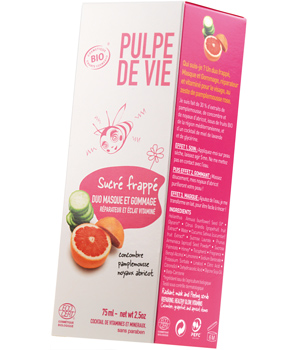 sucre frappe pulpe de vie Pulpe de vie : interview bilan fruitée avant le salon Beyond Beauty