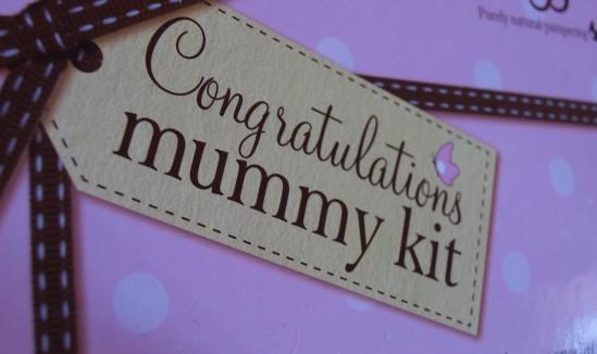 Booboo congratulations mummy kit 30ansenbeauté