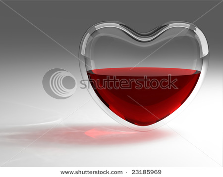 stock photo glass heart with blood 23185969 Tour du monde des cosmétiques : whats new in London?