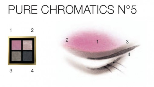 Look Book YSL Pure Chromatics 510x288 Belle de jour et Oiseau de nuit testent Pure Chromatics dYSL