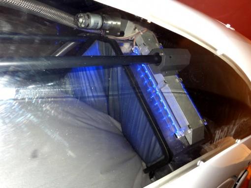 H2OJetsdeaulumiere 30ansenbeaute 510x382 Spécial Minceur : le massage dans un sarcophage selon H2O Body System