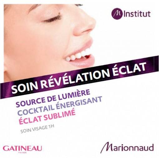 Institut M Soin Revelation Eclat Gatineau 510x507 La saga Marionnaud est aussi mon histoire. Avec 5 soins en institut à gagner !