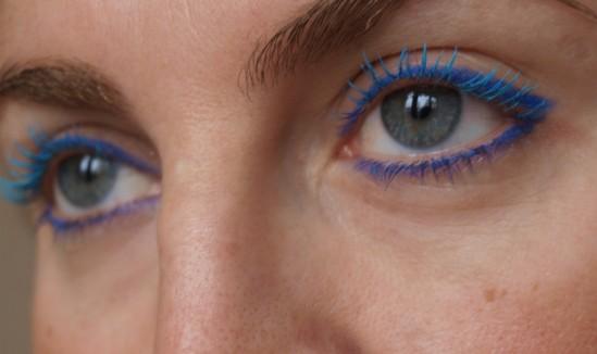 Maquillage yeux bleu 30ansenbeauté