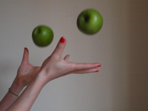 Green apple Chris 21 510x382 Je suis une nouvelle routine cosmétique. Je suis, je suis…??? La réponse !