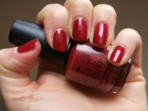 OPI Color To Diner For 30ansenbeaute.com  510x382 Oh ma Cherry !