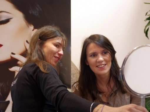 Atelier Maquillage Revlon Mum to be 30ansenbeaute 510x382 Mum to be Party II : le bilan en photos !