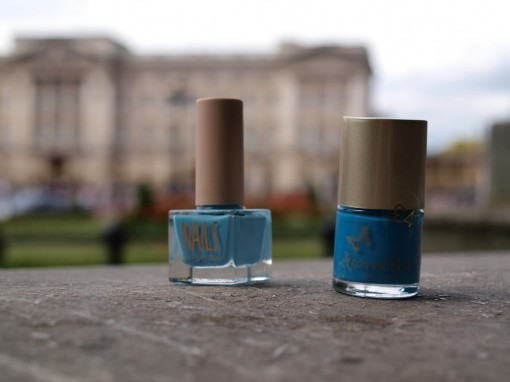 Birmingham Nails blue 30ansenbeaute 510x382 Marre de la manucure bicolore ? Welcome to the Middleton!