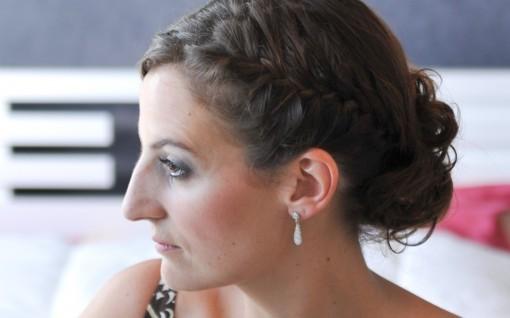 Maquillage mariee blush 30ansenbeaute 510x318 Jolis instants de préparation maquillage pour un mariage