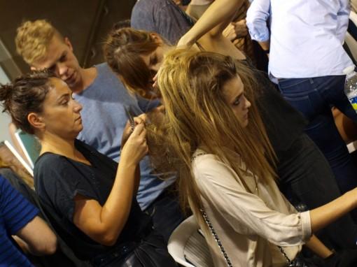 backstage coiffure pauljoe 30ansenbeaute 510x382 Le makeup demakeup, nouvelle tendance en 2012 ?