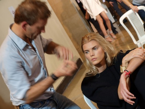 max delorme backstage pauljoe 30ansenbeaute 3 510x382 Le makeup demakeup, nouvelle tendance en 2012 ?