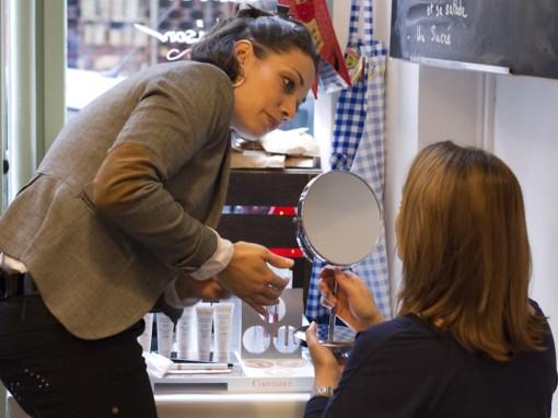 Maquillage teint Avene 3 After Mum to be Party 30ansenbeaute 510x382 La rencontre beauté des jeunes mamans : le compte rendu !