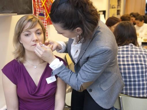 Maquillage teint AveneAfter Mum to be Party 30ansenbeaute 510x382 La rencontre beauté des jeunes mamans : le compte rendu !