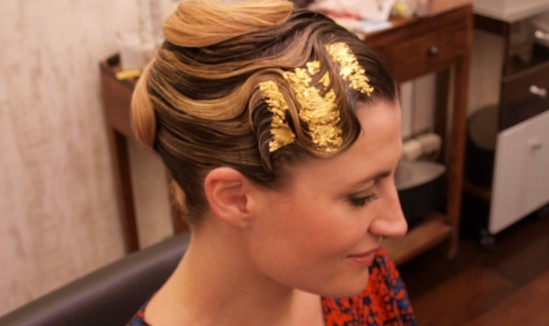 Tuto Coiffure party gold leaf fin2 30ansenbeauté