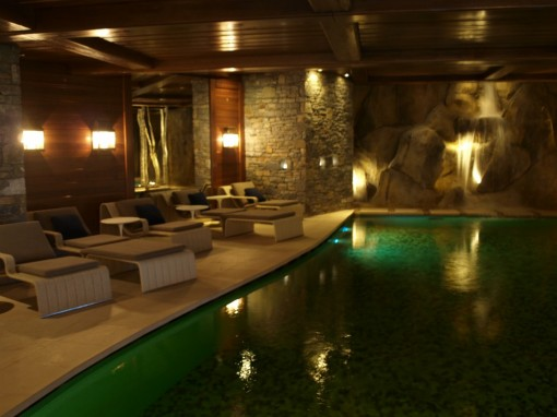 Piscine Spa Cheval Blanc Courchevel 30ansenbeaute 510x382 Le soin de Cendrillon au Spa Cheval Blanc