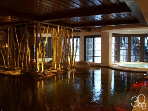 Piscine Spa Cheval Blanc Courchevel 30ansenbeaute2 510x382 Le soin de Cendrillon au Spa Cheval Blanc