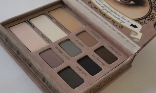 Too Faced Matte Eyes 30ansenbeauté