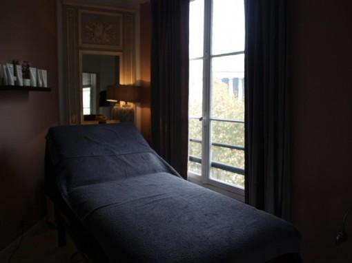 cabine soin salon agnes paya paris 30ansenbeaute2 510x382 Le salon appartement Agnès Paya au coeur de Paris