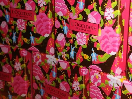 coffrets noel loccitane 30ansenbeaute 510x382 Soirée Noël en beauté 2012, le compte rendu en images !