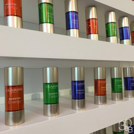 Clarins booster 30ansenbeaute 3 510x510 Le regain dénergie : les soins au secours des peaux fatiguées
