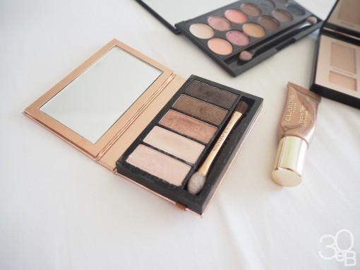 clarins palette yeux 5 couleurs 30ansenbeaute 510x382 Ma revue maquillage de lété