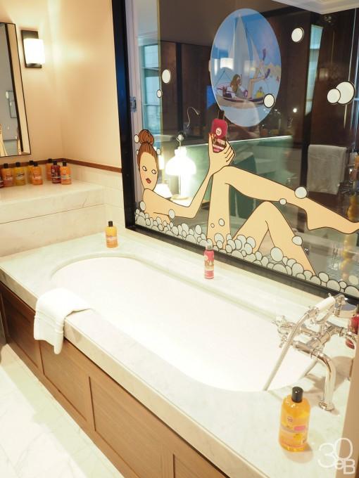 salle de bain energie fruit 510x680 Energie Fruit : le marketing fruité de Sophie et Caroll Ann
