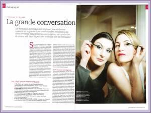 940db62a8671995e5bc7358c20853f02 Ma 1ère couverture de magazine spécial bloggeuses beauté
