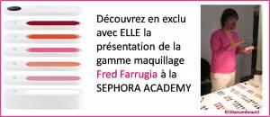 fc54a2572cf3f6f7602a7d3cd53802b6 La présentation bloggeuses du maquillage Fred Farrugia à la Sephora Academy